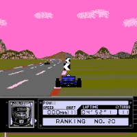 Play Al Unser Jr Turbo Racing Online