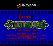 Play Castlevania II – Simon's Quest Moody Online
