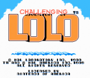 Play Challenging Lolo Online