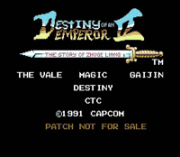 Play Destiny of an Emperor 2 Online