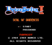 Play Dragon Buster II – Seal of Darkness Online