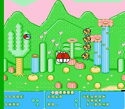 Play Fantasy Zone (Tengen) Online