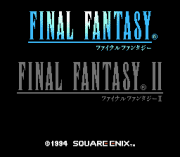 Play Final Fantasy I and II (english translation) Online