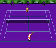Play Four Players' Tennis Online