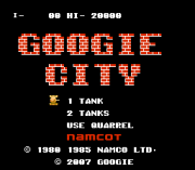 Play Googie City (battle city hack) Online