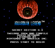 Play Guardian Legend – Secret Edition Online