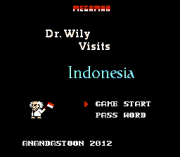 Play Mega Man 3 – Dr. Wily Visits Indonesia Online