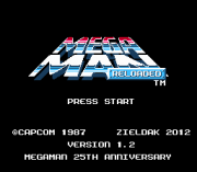 Play Mega Man Reloaded (beta 1.2) Online