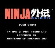 Play Ninja Gaiden – Virgin Edition Online