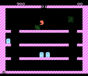 Play Pac-Man Bubble Bobble Online