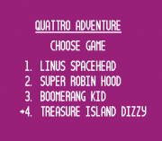 Play Quattro Adventure Online