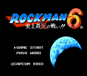 Play Rockman 6 RE Online
