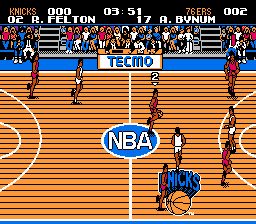 Play Tecmo Basketball (NBA 2K13 hack) Online