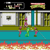 Play Teenage Mutant Ninja Turtles II – The Arcade Game Online