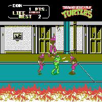 Play Teenage Mutant Ninja Turtles II – The Arcade Game Online